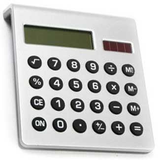 Calculadoras promocionais
