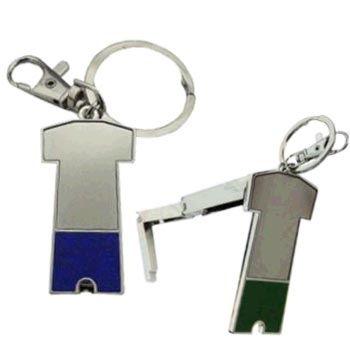 Brinde porta chave para bolsa