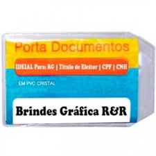 Porta Documento Plástico Personalizado
