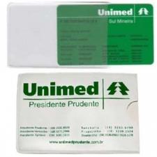 Porta Cartão Plástico Personalizado