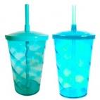 Copo Azul Tiffany Transparente