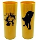 Copos Long Drink Dourado