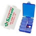 Porta comprimidos plástico