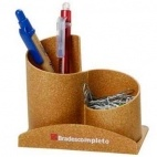 Porta clips com porta caneta