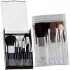 Espelho Maquiagem Kit Pincel