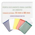 Porta Cartão de Credito em PVC